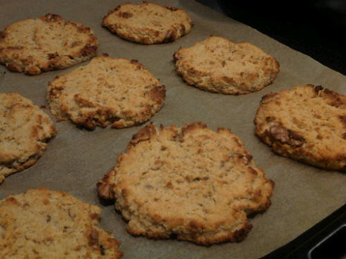 Apple cinnamon cookies 2