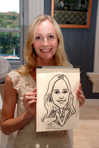 Caricature live sketching for Norden Shipping - 3