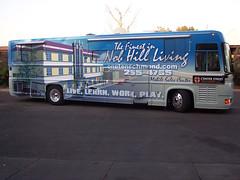 Center Street Bus Wrap