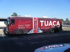 Tuaca Tequilia Bus Wrap