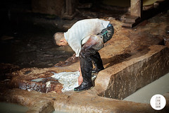 Wellies (Jan Enkelmann) Tags: africa boy man water leather work boots rubber dirty morocco fez medina tannery janenkelmann wwwenkelmanncouk