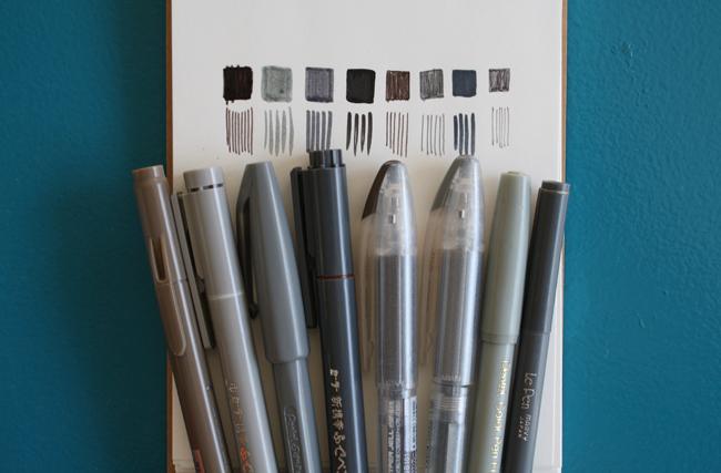 grey pen inventory