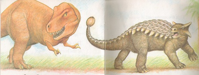 T. rex vs. Ankylosaur