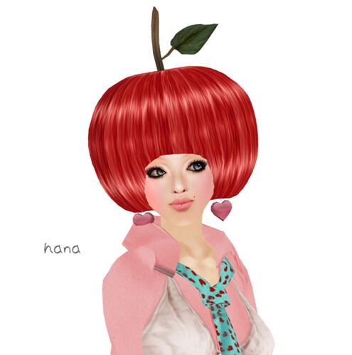 *GF* SHH #04 : Heart Earring -pink-