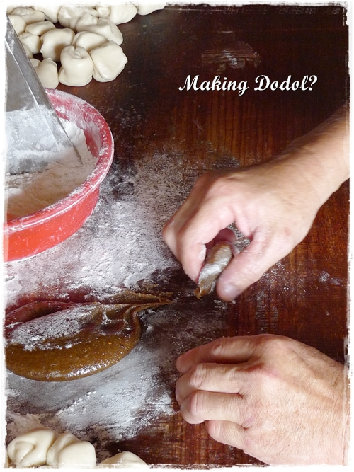Making Dodol