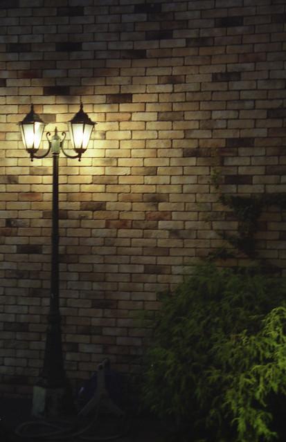 街灯のフリー写真素材