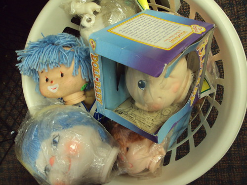 Doll Heads at the St. Vinnies in Ironwood