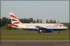 British Airways - G-EUPK - A319-100 (Tom McNikon) Tags: airbus british ba airways britishairways osl gardermoen a319 engm airbus319 a319100 airbus319100 geupk osloairportgardermoen