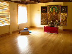 Norwich Buddhist Centre shrine room