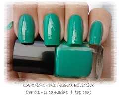 LA Colors - kit Intense Explosive - cor 01 (Marioh Mattos) Tags: colors la intense kit explosive esmalte