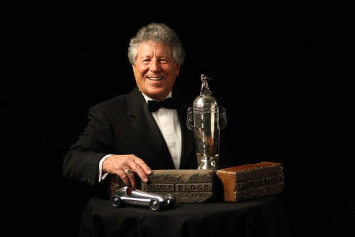 Mario Andretti at the Indianapolis 500 Centennial Gala