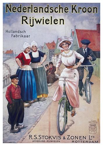 008-Carteles de bicicletas antiguas