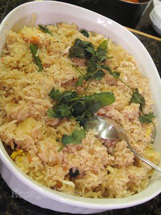 Crab Fried Rice - Chinese New Year