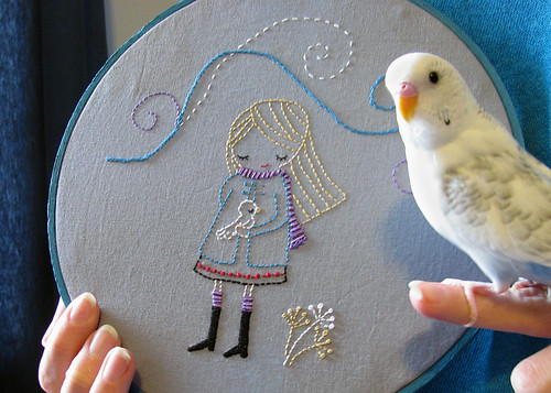 Day 11: Birdie Embroidery