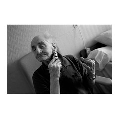 . (Emmanuel Smague) Tags: life leica portrait people blackandwhite bw woman man france men film childhood 35mm hospital photography death women europe loneliness grandmother report grandfather smiles documentary doctor shaving laughter nurse mp emotions oldage anguish nursinghome patients alzheimer tearsofjoy lifestory maternalinstinct caregiver blankstares expectancy emmanuelsmague hushhushsubject