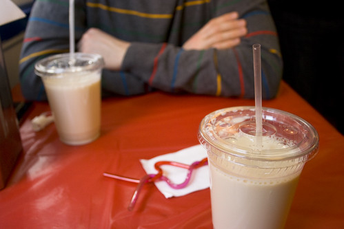 Milk & Complementary Silly Straw