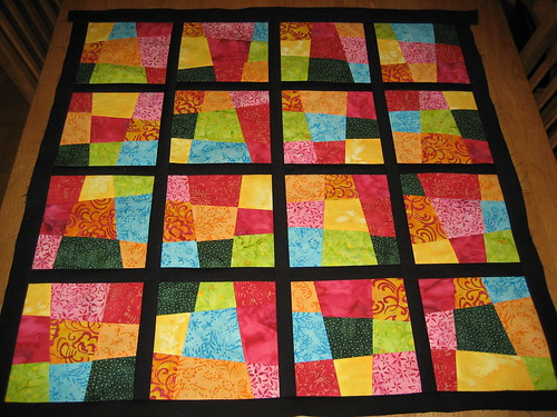 WIP – Crazy 9-patch quilt | Alias AnnaJM : crazy nine patch quilt - Adamdwight.com