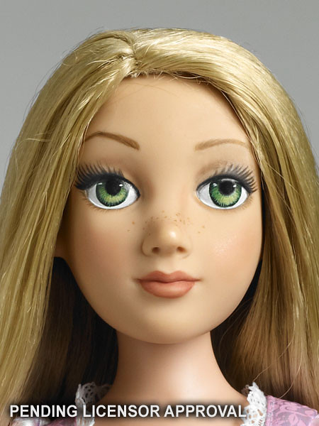 Tonner Rapunzel Doll Detail