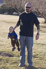 Overalls are also an effective handle