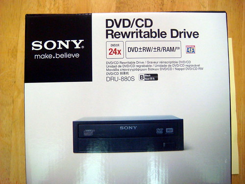 Sony 24x DVD 燒錄器