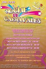 Noche de Carnavales - San Bartolo