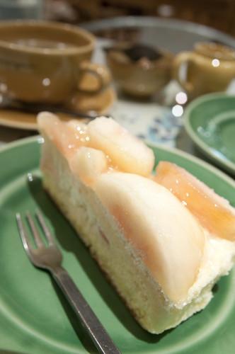 Gâteau au Pêche, Patisserie á la campagne, Meguro