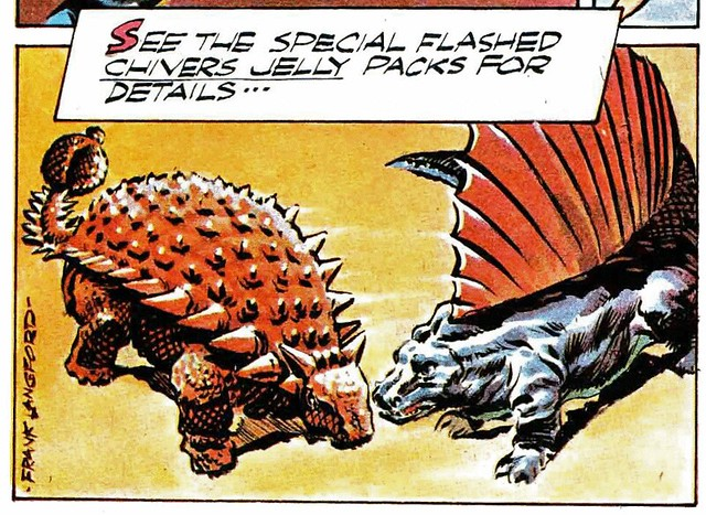 Ankylosaurus Vs. Dimetrodon!