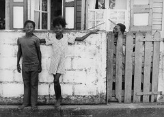 Brother and Sister (Tomas Photography) Tags: street portrait people bw sister brother documentary