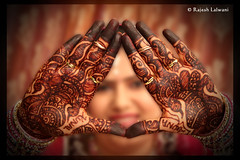 Mahendi (Lalwani Rajesh) Tags: wedding ceremony weddingceremony indianwedding indianceremony rasam mahendi rajeshlalwani babashahstudio mehndirasm