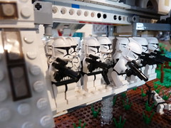 Lego Star Wars Clone Base for my 400 Subscribers (republicattak) Tags: star lego wars clone base