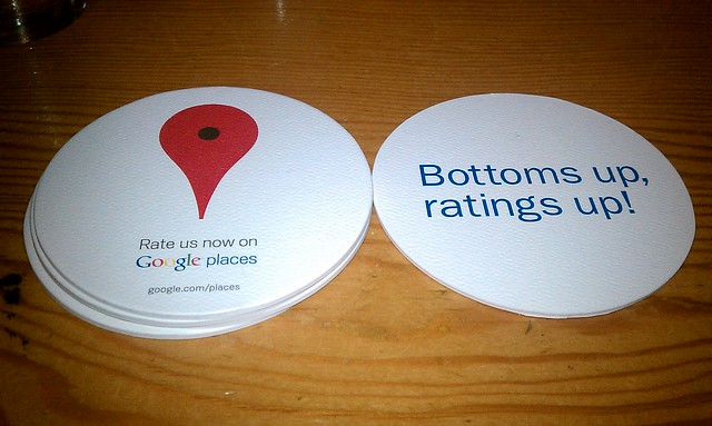 Google coasters at Deschutes