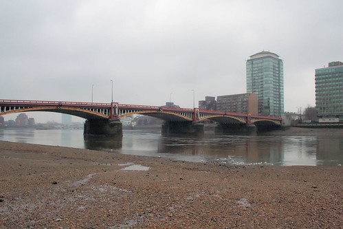 By the MI6 slipway to the river