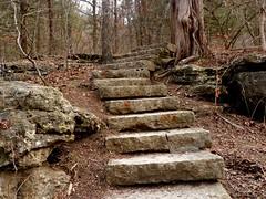 Roaring River State Park - Missouri (Adventurer Dustin Holmes) Tags: statepark stairs steps trails trail staircase missouri stonesteps hikingtrail roaringriver stateparks hikingtrails stonestaircase roaringrivertroutpark