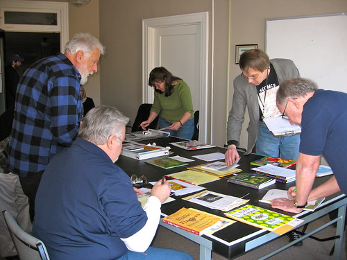 The Southeast Chapter of the National Cartoonists Society in the Xpress conference room