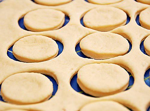 bomboloni con tartufi di cioccolato (Ramsey)