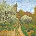 Monet, Claude - Primavera, appletrees blooming - 1872 por *Huismus