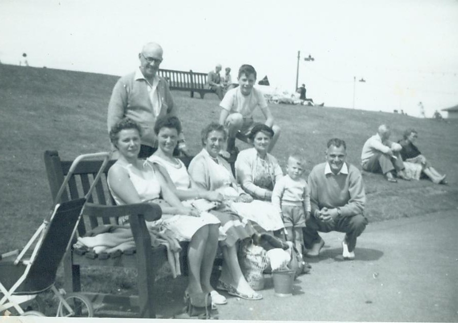 McCreath family and friends - Girvan 1959