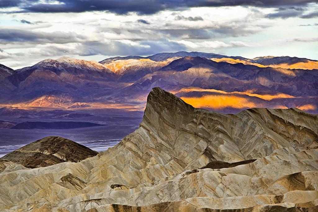 Manly Beacon, Zabriskie Point, Death Valley National Park