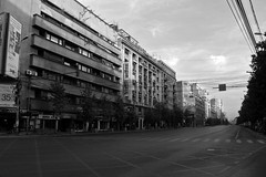 Bucuresti, Romania (Domfen) Tags: city cidade blackandwhite bw architecture europa europe european eu romania bucharest ville monchrome cuidad