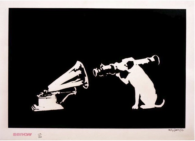 HMV Banksy 2004
