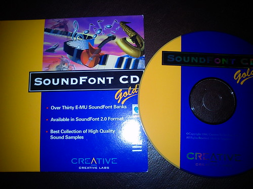 Creative Sound Blaster AWE64 Install Gold CD-ROM