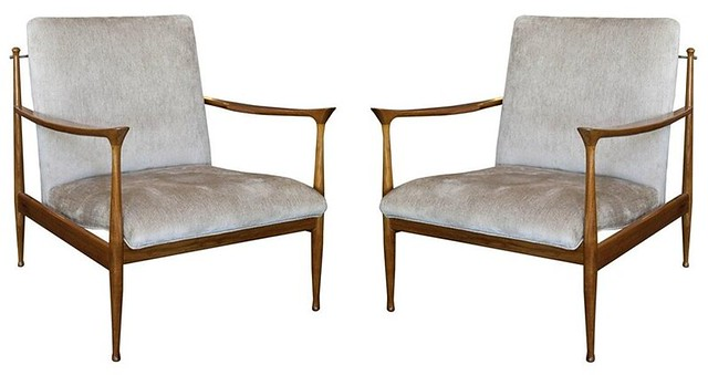scandinavian arm chairs 1950's $3400