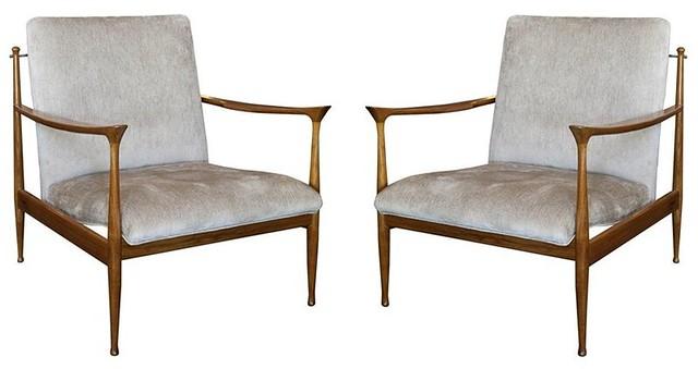scandinavian arm chairs 1950's $3400