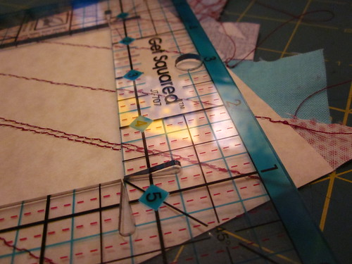 easy string piecing!