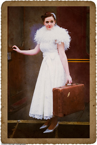 Vintage Wedding Dress Shoot