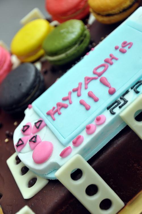 PSP Biirthday cake