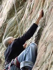 Climbing at Sauratown