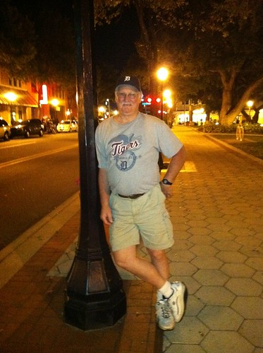 """Leanin' against a post"" in Lakeland by Rick Rock Radio"