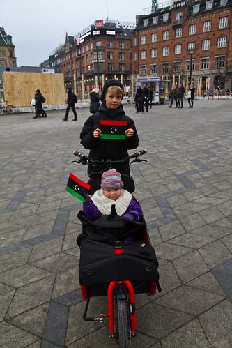 Supporting Libya