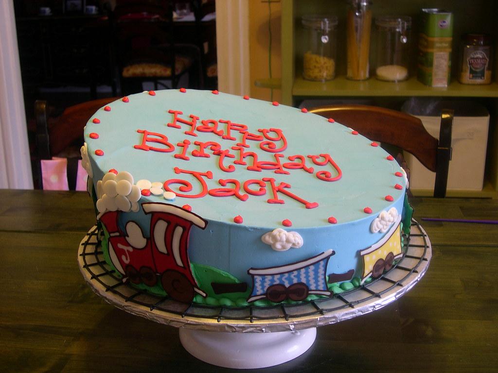 Crazy Train Cake